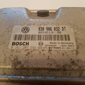 calculator vw polo1.4 benzina ME7.5.10 030906032DT 0261207593