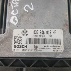 Calculator motor octavia2 0281012292 03G906016HF