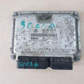 Calculator motor skoda octavia 038906019PB