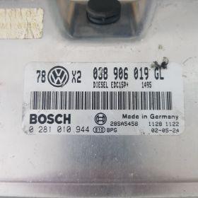 Calculator VW passat 2002 edc15cp+ 038906019GL