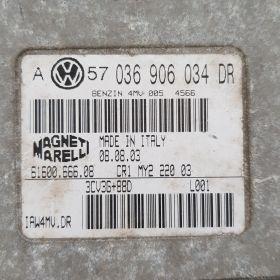 Calculator vw golf4 1.6 16v 036906034DR